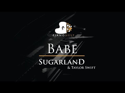 sugarland Babe Ft Taylor Swift Piano Karaoke Sing Along Cover With