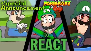 getlinkyoutube.com-LUIGIKID REACTS TO: LUIGI DEATH STARE, LUIGI KART, MARIO KART 69 (+SPECIAL ANNOUNCEMENT!)