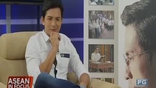 "ASEAN in Focus - Interview with Dennis Trillo of ""Felix Manalo"" movie"