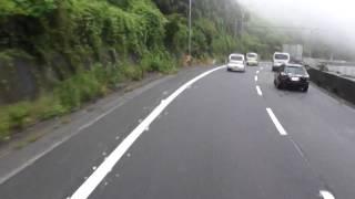 getlinkyoutube.com-トレーラーの車窓 名阪国道 Ω(オーム)カーブ 東行き