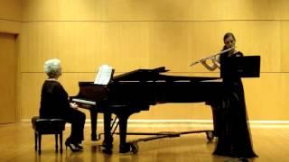 Alejandro Arguello; Sonata for Flute and Piano; I. The Shaman's Incantation