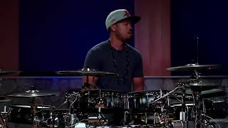 getlinkyoutube.com-Tony Royster Jr - How To Build Hand Speed - Drumeo Edge (FULL DRUM LESSON)