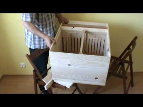 2010 - Noutati in apicultura - Nou tip de stup anti varroa destructor inventat de Ioan Ursu