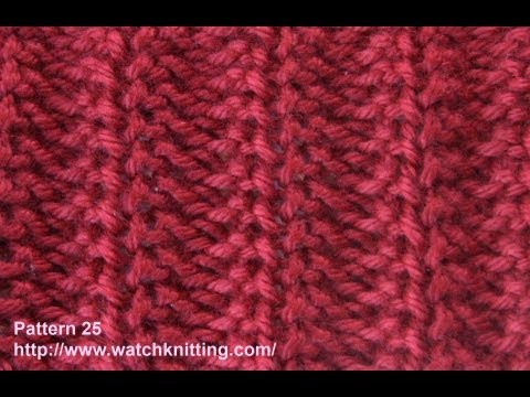 Watch Knitting - Pattern 25 ( Jersey ) - Jerseys Knitting Models