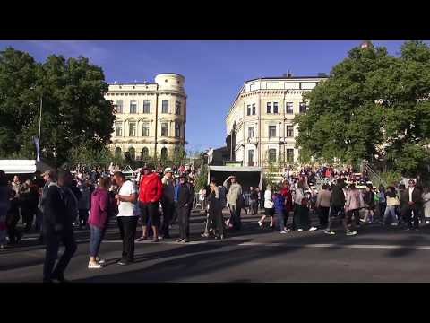 Танцевальное ЛИГО / Līgo Svētki / LIGO Jāņu svinēšana / Folk festival