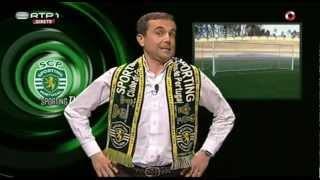 Jorge Gabriel apresenta tudo e trabalha para a Sporting TV