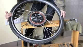 getlinkyoutube.com-Ремонт мотор колеса на самодельном электро вело трайке