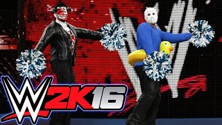 WWE 2K16 Tornado Tag!!! (TAG TEAM vs Randoms) Online Match!