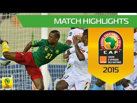 Cameroon vs Guinea AFCON 2015