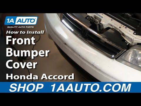 1AAuto.com Install Replace Front Bumper Cover Honda Accord 1994-97