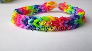 getlinkyoutube.com-Pulsera De Gomitas / Rainbow Loom Iverted Fishtail