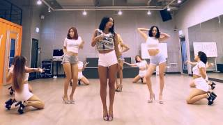 getlinkyoutube.com-Sistar Shake It Dance Tutorial Mirrored + Slowed