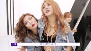 getlinkyoutube.com-4MINUTE - '미쳐 (Crazy)' (BTS: Music Video)