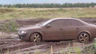 getlinkyoutube.com-Audi A4(1.8T quattro) на бездорожье (отрывок из теста)