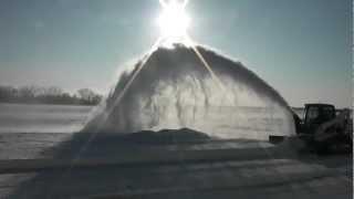 getlinkyoutube.com-Skid Pro Skid Steer Snow Blower