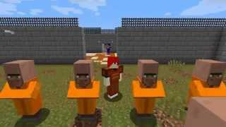 getlinkyoutube.com-Minecraft ผจญภัย Map : The Escapists 2 ตอนที่ 1 : วันแรกในคุก