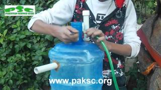 getlinkyoutube.com-cara membuat biogas sederhana