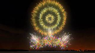 getlinkyoutube.com-Fireworks Show - FWsim Simulator - Rolling In The Deep, Adele
