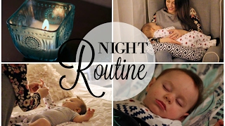 NEWBORN NIGHT TIME ROUTINE! width=