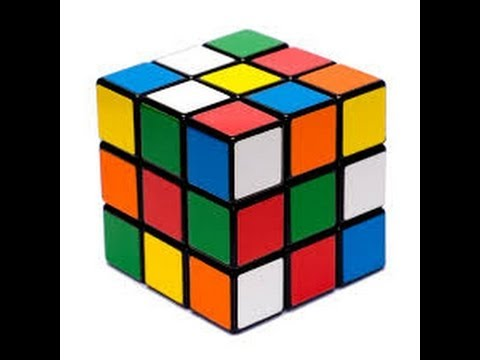 How To Solve Rubik Cube Part 1 (Basic Method) (Sabır,Zeka,3x3 küp çömez metodu ile çözüm)