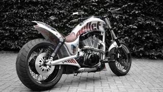 getlinkyoutube.com-Suzuki VS 1400 Custom Intruder Extrem Biker News mit Foto Link