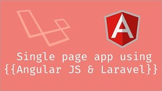 Setting up the app and routes - Ep1 - SPA Laravel & Angular
