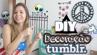 getlinkyoutube.com-DIY - Decoração de quarto Tumblr