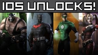 FREE INJUSTICE IOS UNLOCKS! - From PapaBehr