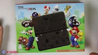 getlinkyoutube.com-New Nintendo 3DS Super Mario Black Edition - Unboxing