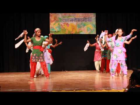 Naati...Himachali Folk Dance ..kids Performance