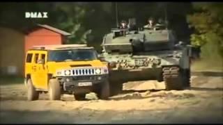 getlinkyoutube.com-HUMMER H2 and Leopard 2A6.flv