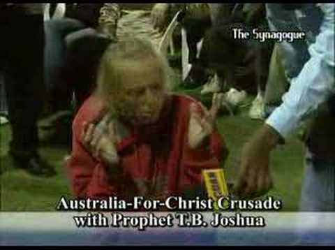 Videos Related To 'tb Joshua In Australia'