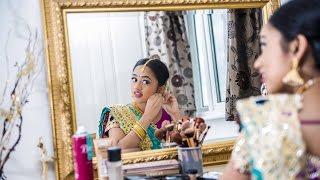 getlinkyoutube.com-Nisha's Saree Ceremony | Pre Shoot Trailer | Jakobz Media