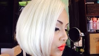 getlinkyoutube.com-How To Get PLATINUM BLONDE HAIR!!