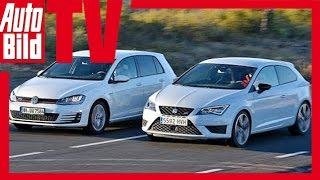 getlinkyoutube.com-VW Golf GTI vs. Seat Leon SC Cupra