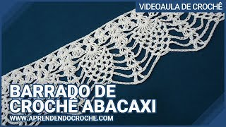 getlinkyoutube.com-Barrado de Croche Abacaxi - Aprendendo Crochê