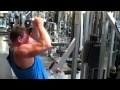 Close Grip Pulldowns - 180 x 8