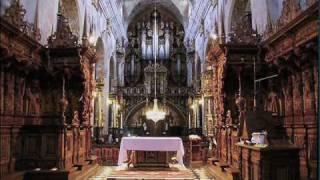 getlinkyoutube.com-Leżajsk baroque pipe organ - J.S. Bach Praeludium in c minor, BWV 546