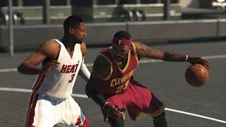 getlinkyoutube.com-NBA 2K15 XBOX ONE Gameplay - LeBron James vs Dwyane Wade