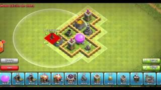 getlinkyoutube.com-Clash of Clans!!Aldea Farming Ayuntamiento 5