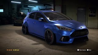 "getlinkyoutube.com-Need for Speed 2015 - ""Ford Focus RS 2016"" - 1100 HP Build !!! (Gameplay)"