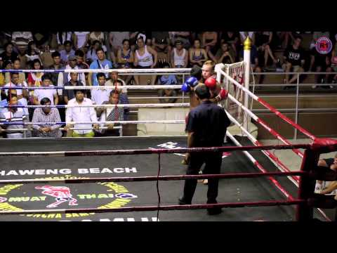 Muay Thai fighting - Lennard vs Kaichon