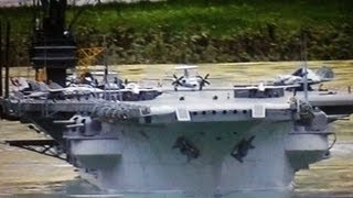 getlinkyoutube.com-U.S.S FORRESTAL CVA 59 AIRCRAFT CARRIER SHIP los angeles