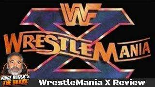 WrestleMania X Review w/ Vince Russo & Jeff Lane