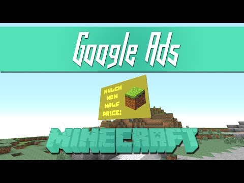 Google Ads in Minecraft