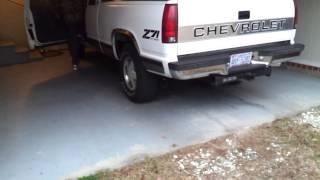 getlinkyoutube.com-Chevy silverado straight pipe