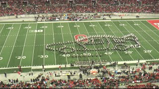 """Ohio State Marching Band """"Back to the Future""""- Halftime Show vs. Minnesota 11-7-2015"""