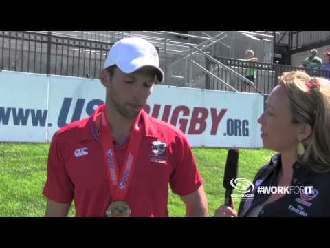 Interviews with Emirates Airline National DII Club Champions Wisconsin Rugby Club