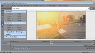 getlinkyoutube.com-TUTORIAL - Cómo hacer zoom en una parte del video con Sony Vegas