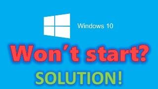 getlinkyoutube.com-How to fix Windows 10 start-up problems - Blackscreen, Bootloop, Infinite Loading [HD 60FPS]